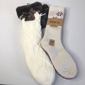 Frye and born socks
